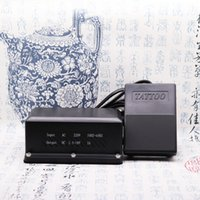 Wholesale Tattoos Foot Pedals - Tattoo Power Supply And Plastic Foot Pedals Good For Apprentice
