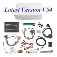 Wholesale Galletto Ecu Flasher - Wholesale-Latest V54 FGTech Galletto 4 Master BDM-TriCore-OBD Function ECU FLASHER PROGRAMMER REMAP CHIP TUNING TOOL FREE SHIPPING