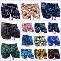 Wholesale Cool Boys Swimwear - 2015 AAA+quality hot 14 color 4 size Fashion cool men boy summer beach shorts surf swim trunks boxer man swim suit swimwear TOPB2921 2000pcs