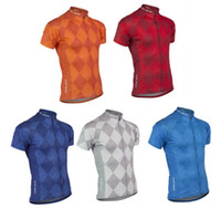 Wholesale 4xl Motorcycle Jersey - Argyle bike race team cycling jersey 2017 Maillot ciclismo, Argyle road riding jersey, Motorcycle Cycling Clothing A194