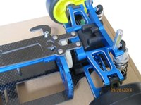 Wholesale Tamiya 4wd Kit - Alloy & Carbon TAMIYA TT01 TT01E Shaft Drive 1 10 4WD Touring Car Frame Kit