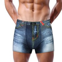 Wholesale Cartoon Boxers - Wholesale-2016 HOT SALE Cotton Underwear Men Sexy Mens Underwear Boxers Cartoon Mens Cotton Boxer Shorts Print Men Underpants