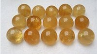 """Wholesale Paper Sphere - 1pc Natural Citrine Crystal Sphere Ball 1""""-1.2"""""""