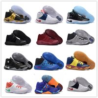 Wholesale Black Samurai - 2016 Hot Sale Kyrie Irving 2 Men's Basketball Shoes Kyrie2 Champion Edition Grey Wolf Samurai Star Irving2 Sports Training Sneakers 40-46