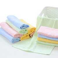 Wholesale Wholesale Microfiber Hand Towels - 20PCS High Quality Microfiber Cleaning Towel Car Washing Nano Cloth Dishcloth Bathroom Clean Towels FREE SHIPPING Rectangle 25x53cm HY1209