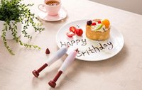 Wholesale pastry syringe decorator resale online - DIY your love cake shaped food grade silicone cake dessert decorators Cake decoration tools Cute pastry cream chocolate decorating syringe