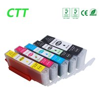 Wholesale Pixma Printers - 5 PCS Ink Cartridges PGI450 CLI451 Compatible for Canon PIXMA MG7140 Canon PIXMA ip7240 Canon PIXMA MG5440 MG6340 Printer