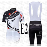 Wholesale Monton Cycling Bib - 2014 Monton Cycling Jersey Sets Speed Kneen Cycling Jersey and Bib Shorts Colorfast Pretty Lightweight Fashion Ladies Cy