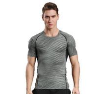 spor tişörtleri yaka toptan satış-Kas Kardeşler Erkekler Koşu Spor Spor Yuvarlak Yaka Kolsuz Yaz Hızlı Gömlek T-Shirtmer Gömlek Hızlı Gömlek T-Shirt