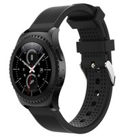 Wholesale Free Sports Gear - Wholesale-New Arrivals Fashion Sports Silicone Bracelet Strap Band For Samsung Gear S2 Classic 732 Sturdy and durable Free Shipping Aug29