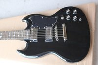 Wholesale Electric Guitars Young - High Quality black hardware Angus Young Limited Edition black Electric Guitar