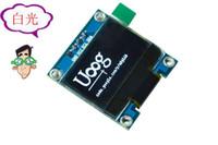 oled anzeigen großhandel-Großhandels-10PCS Gelb, blaue doppelte Farbe und Weiß 128X64 0.96 Zoll OLED LCD LED-Anzeigen-Modul für Arduino 0.96