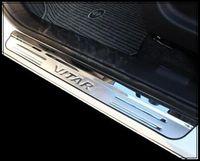 Wholesale Door Sill Scuff - Free shipping!High quality stainless steel 4pcs door sills scuff footplate, guard footplate,door sills protection bar for Suzuki Vitara 2016