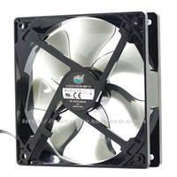 Wholesale 12v fan control - Original Cooler Master CPU A12025-20CB-4BP-F1 DF1202512SEUN 12V 0.37A chassis 12cm four wire temperature control PWM fan