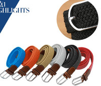 Wholesale Plain Metal Belt Buckles - DHL big children Mens Womens Canvas Plain Webbing Metal Buckle Woven Stretch Waist Belt canvas Braided Belts good qulity LX286