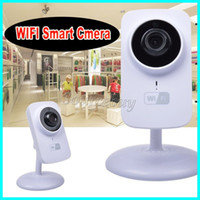 Mini Wifi Câmera IP V380 Wireless HD 720P 1280 * 720 Security P2P Monitor Night Vision Audio Vigilância TF Card Port Smart Cam Frete Grátis