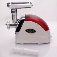Wholesale Power Grinders - New 2000W Stainless Steel Power Kitchen Electric Meat Grinder Sausage Red