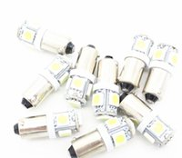 Compra Ha Portato Ba9s Giallo-Le lampadine dell'automobile delle lampadine dell'automobile 9pcs / lot lampadine BA9S 5050 SMD LED lampadine dell'interno del indicatore della torretta del LED