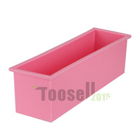 Wholesale Toast Baking Mold - 1.2L L Rectangle Pastry Toast Bread Loaf Cake Silicone Mold Bake ware Silica gel Liners baking mold silicone muffin