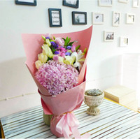Wholesale Flower Wrapping Paper Price Solid Kraft Paper Bouquet Packing Paper DIY Paper Gift Wrapping Paper