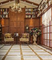 fondo interior vintage al por mayor-Vintage Room Indoor Photo Studio Props Fondos de vinilo 5X7ft Boda familia Niños Fondos de fotos