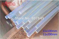 Wholesale Hot Melt Glue Sticks Wholesale - 11mmx200mm Clear Glue Adhesive Sticks For Hot Melt Gun Car Audio Craft transparent glue gun glue stick H210409