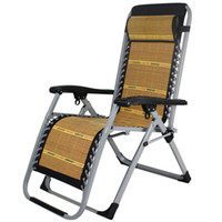 Wholesale Summer outdoor leisure chair home office bamboo chairs nap natural beach folding chair