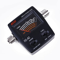 Wholesale Power Swr - Brand New Genuine Original NISSEI RS-40 Measurable Range 200w,with Adapter Connector, RS40 Power SWR Meter,replacing redot 1050A