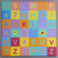 Wholesale-Child S Sizei Foam Alphabet Interlaocking Letters Numbers Playing Educational Soft Mat Floor Jigsaw Puzzle