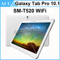 Wholesale android tablets 16gb - Refurbished Original Samsung Galaxy Tab Pro SM-T520 T520 10.1 inch 16GB Octa Core 8MP Camera Android Tablet PC