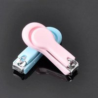 Wholesale Nail Clippers Children - Hot Sale New Cute Safe Children Baby Infant Nail Clipper Fingernail Plier Baby Scissors Care ZA0234