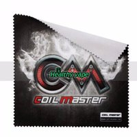 Wholesale Atomizers For Sale - 100% Original Coil Master Polishing Cloth 150mm*147mm for your Atomizer Tube Vape Clothing for E Cigs Products On Sale
