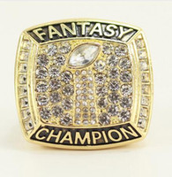 Wholesale men fantasies - Champions ring, 2017 Fantasy Football League Championship ring, football fans ring, men women gift ring