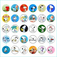 Wholesale coin offers - 2016 Promotion Special Offer Sterling Jewelry Pulseras Watch Dog Snap Button Jewelry Charm Popper For Bracelet 30pcs   Lot Gl054 noosa snap
