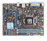 Wholesale 1155 Motherboard Asus - For Asus P8H61-M LX PLUS Original Used Desktop Motherboard H61 Socket LGA 1155 i3 i5 i7 DDR3 16G uATX On Sale