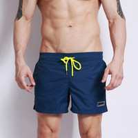 Wholesale Swimwear Beachwear Boxer Trunks - Desmiit Swimwear Men Swimming Shorts for Men Swim Boxer Swimming Trunks Nylon Light Thin Boardshort Beachwear Plus Size Swimsuit
