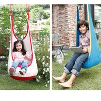 Barato Espreguiçadeiras-New Fashion Baby Swing Crianças Hammock Kids Swing Chair Indoor Outdoor Hanging Chair Child Swing Seat
