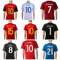 Wholesale Cheapest Thailand Jersey - 2016 Euro Cup all teams Top Thailand Soccer Jerseys Cheapest Soccer Wears Mix Order Drop Shipping