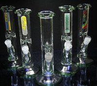 spike watering - Cheap Straight with spikes style bongs glass bong quot Rasta water pipe oil rig mm joint D K brand bongs glass pipes