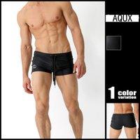Wholesale Sexy Tall Man - 2016 New Aqux Men's Swimwear Sexy Men's Swimming Shorts Big & Tall Plus Size Men Beachwear Swimsuit Fashion Swimwear Men