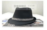 Wholesale Woolen Hats For Women - Women Jazz Hats Fashion European Wide Brim Hats Personalize Retro Sun Hat Casual Toppers For Women Woolen Hats J160474