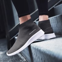 Wholesale Long Shoes For Men - Mens Neutral Stability Long Distance Jogging Shoes Best Sneakers For Sports Casual Walking Running Gym Lightweight Anti-slip