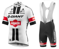 Wholesale Mens Road Cycling Jersey - Mens giant white Cycling jersey 2018 Maillot ciclismo, Road Bike clothes, bicycle Cycling Clothing D11