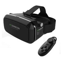 Wholesale Video Glasses Games - VR Shinecon Virtual Reality VR 3D IMAX Video Movies Games Googles Glasses With Remote Control For 3.5-6.0 Inch Smart Phones