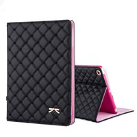 Wholesale Covers Para Ipad - Wholesale-Newest Fashion Bowknot PU Leather Case Stand Cover for Funda iPad Air 2 for iPad Air 1 for iPad Mini 1234 Capa Para with HD Film