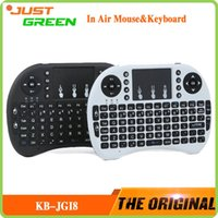 with Keyboard Desktop USB KB-JGI8 Mini Keyboard Air Mouse Multi-Media Remote Control Touchpad Handheld for Android TV BOX Notebook Mini PC