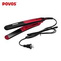 Wholesale Povos Hair Straightener - POVOS Ceramic Plate 6 Different Temperature Setting Hair Straightener Irons Professional Straightening Hair Tools PR2021I
