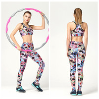 Wholesale Cheap Gym Clothing - Cheap Price Women Yoga Set Exercise Suit Clothes Elastic Capris Fitness Sportwear Slim Jumpsuit Quickly Dry GYM Yogasuit Mix Color LNSTZ