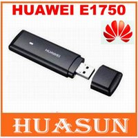 Wholesale Modem 3g Free - Free shipping Unlocked HuaWei E1750 E1750c 3G wireless modem support google android system