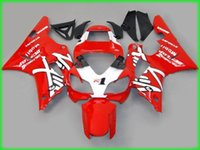 Wholesale Customize Yzf R1 - Customized Fairing kit for YAMAHA YZFR1 98 99 red white YZF R1 1998 1999 YZF1000 yzfr1 Injection mold Fairings set